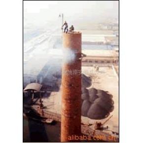 烟囱顶口云梯安装 烟囱爬梯护网安装