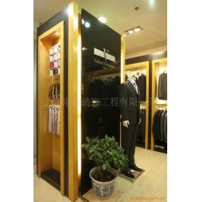 服装展柜、服装道具、展示柜、展柜、服装店装修