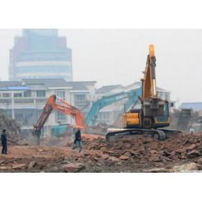 上海闵行区挖掘机出租-混凝土破碎-马路开挖