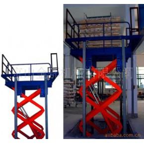 液压升降货梯 固定式升降台
