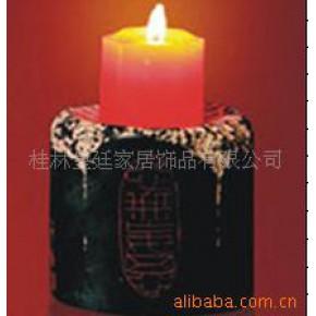 批发供应 树脂 工艺品 中式家居装饰品 中国印烛台