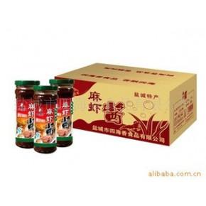批发供应 特产 美食 食品代理 麻虾酱 罐头