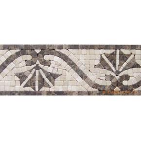 石材马赛克腰线 中式古典