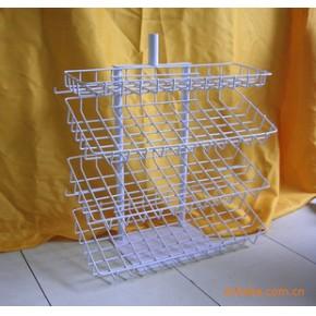批发供应食品铁丝架系列 铁线架系列 金属网篮