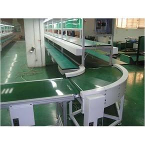 杭州输送机-90°转弯皮带流水线