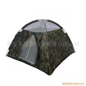 军品 质优价廉 两杆圆顶三人帐篷 旅游帐篷