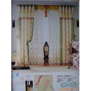 高级成品窗帘 透明型 布窗