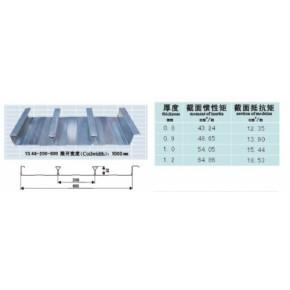 安徽闭口式楼承板,压型钢板YX58-200-600型18019972462