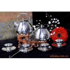 【优质】云南特色工艺品 中国斑锡青竹茶具11件套