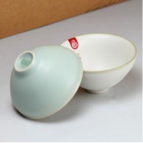 汝窑品茗杯 汝瓷茶杯 功夫茶具 瓷工坊汝窑 大容量