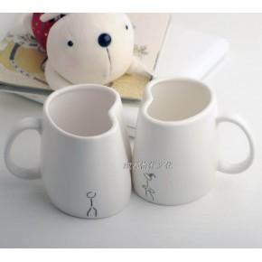新品 oasso 情侣对杯 创意陶瓷马克杯 成都怡佳文化