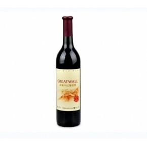 长城干红葡萄酒 长城至醇干红葡萄酒 12度750m红酒l 婚