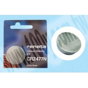 瑞士RENATA纽扣型锂电池 CR2477N