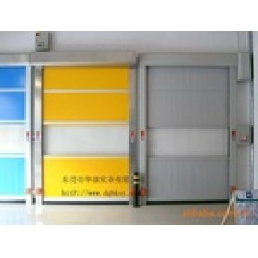 东莞工业折叠门、pvc柔性门、防撞自由门