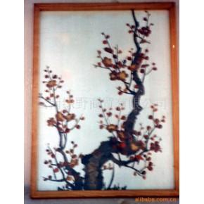 配套的蝴蝶标本和文化艺术展出用品 挂饰品