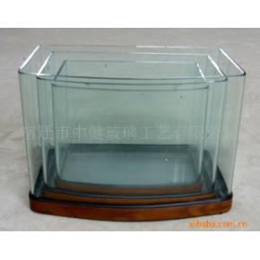 包边玻璃鱼缸(三弧) 水族箱