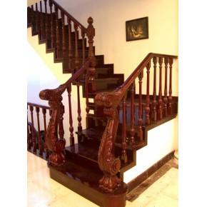 钢木楼梯,实木楼梯,木门,木线条,松江楼梯
