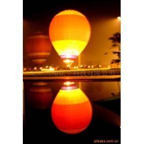 热气球(夜幕中的热气球)