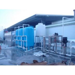 汕头环保公司/4吨/小时纯水设备+24吨不锈钢组合水箱