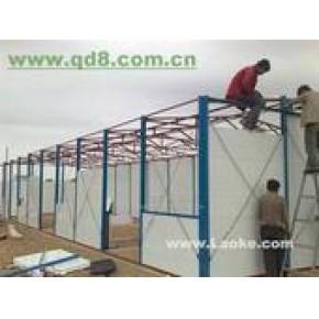 北京海淀区安装钢结构彩钢房阳光棚制作
