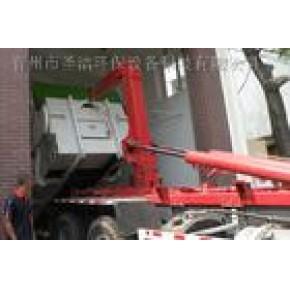 移动地埋式垃圾车 勾臂式压缩中转站 垃圾压缩中转站