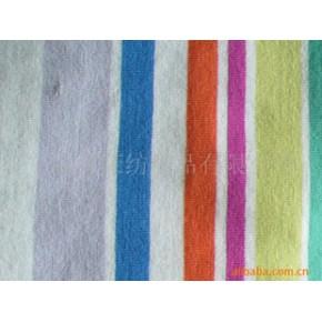大循环氨纶汗布 彩条氨纶汗布