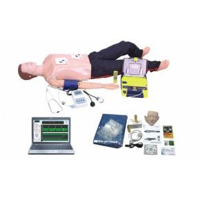 电脑高级功能急救训练模拟人(心肺复苏CPR与血压测量、AED除颤仪等功能