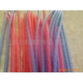 硅胶缠绕管螺旋硅胶管 螺旋硅胶管