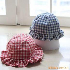 09年日本原单春夏童帽 英伦风宝宝帽
