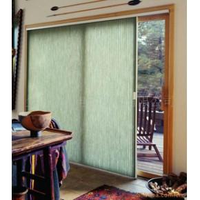 垂直蜂巢帘推拉门窗帘 半透明型