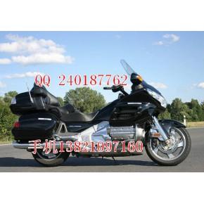 特价出售进口摩托车本田金翼GL1800A价格5000元