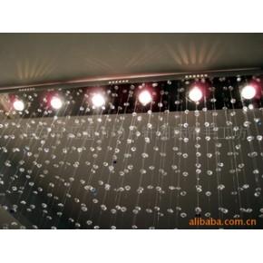 水晶玄关水晶灯  隔断水晶灯 水晶灯帘 酒店工程水晶灯 水晶灯