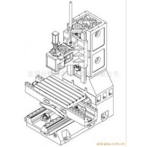 数控铣床光机TOM-L850B(线轨)