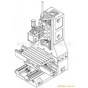 数控铣床光机TOM-L8050(线轨)