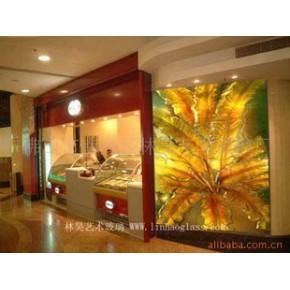 各类热熔玻璃墙,钢化玻璃墙