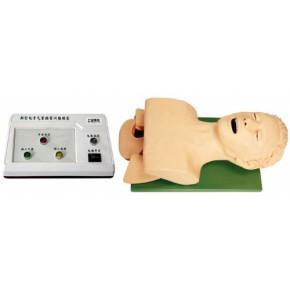 电子人体气管插管训练模型(带报警)