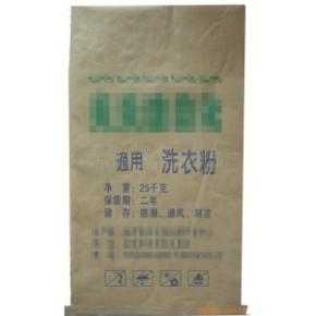纸塑复合袋 牛皮纸PE内膜