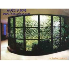 各类热熔艺术玻璃墙,酒店工程装饰艺术玻璃