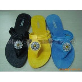 供应pvc拖鞋 T字带面拖鞋 款式精美