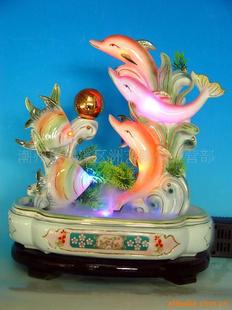[銀聯網]陶瓷荷葉蓮花魚缸噴泉流水盆景擺設 | 銀聯網 - Yahoo …圖