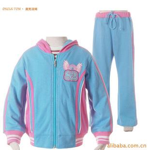 品牌童装 儿童运动套装 儿童运动服 儿童休闲服 -服装内衣