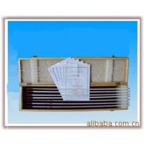 二等标准温度计 建兴 棒式玻璃温度计