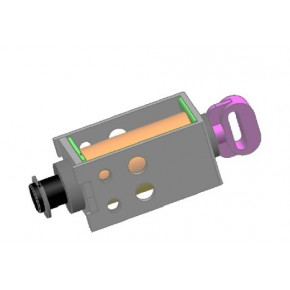 汽车自动变速器档位锁止电磁铁