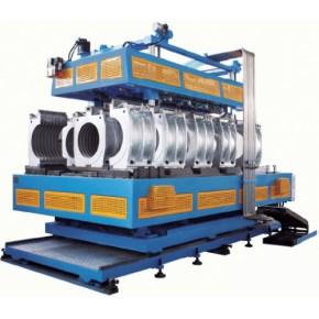 卧式HDPE,PP,PVC大口径双壁波纹管生产线