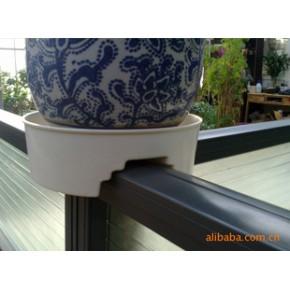 塑料花盆-办公屏风花托盆、卡槽系列 吊兰系列花盆托