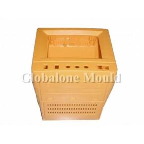 工业控制器类塑胶模具,注塑成型加工,喷油丝印移印
