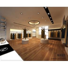 专业服装店设计装修、服装连锁店、服装货架