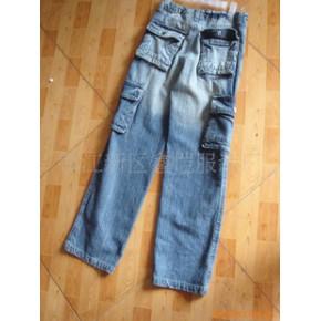 优质牛仔裤 长裤 淑女 靴裤
