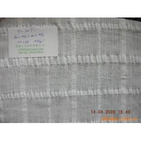 涤粘色织泡泡布 T65/R35