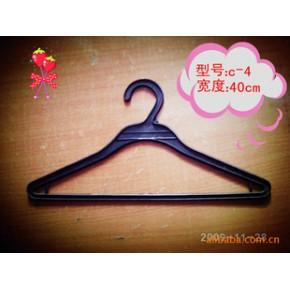 服装干洗店专用衣架 优质塑料一次性衣架